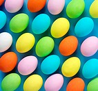 Multi Coloured Easter Eggs