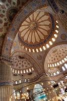 Blue Mosque, Istanbul. Turkey