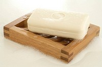 Bar of yoghurt soap