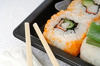 Bento box, close up