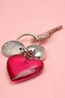 Heartshape key fob