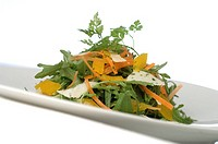 Ruccola salad with parmesan