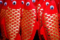 Red paper fish, Chinese New Year decorations