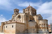 Collegiate church of Santa Maria la Mayor (12th-13th century). Toro. Zamora province, Spain