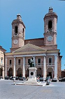 Italy - Marche Region - Camerino - Cathedral (rebuilt in 1832)
