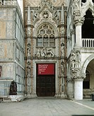 Italy - Veneto Region - Venice - Doge's Palace - Gate of the Paper