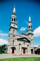 Canada. Quebec. Montreal. Visitation of Mary Virgin church.