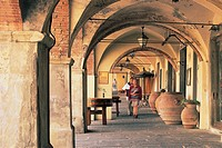 Italy - Tuscany Region - Chianti Hills - Greve in Chianti - Arcades