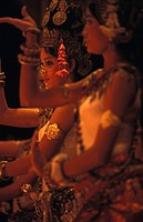 Siem Reap, traditional Apsara dancing in the Kulen restaurant