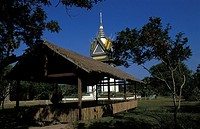 The killing fields of Choeung Ek, victims of the Pol Pot regime