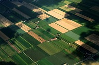 Netherlands, Aerial view of Zuid Holland