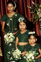 Kandy, a traditional wedding ceremony