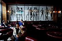 Berlin, the Newton bar in the Charlottenstrasse