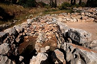 Crete, the ancient palace of Kato Zakros