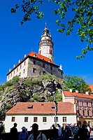 Cesky Krumlov. Czech Republic.