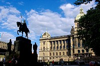National Museum. Wenceslas Square, Prague, Czech Republic