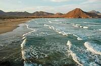 Genoveses beach. Cabo de Gata Natural Park. Almeria province. Andalusia. Spain