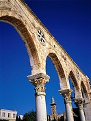 Israel, Jerusalem, arches of the Dome of the Rock (thumbnail)