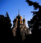 Israel, Jerusalem, Russian Orthodox church
