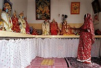 Mauritius, hinduist shrine