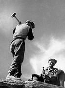 cavapietre, 1955
