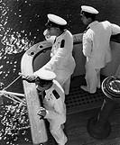 ufficiali sul ponte di comando, 1950_1960