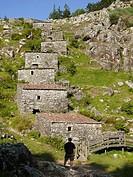Molinos de Folón. Pontevedra province. Galicia. Spain.