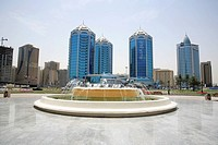 Sharjah Business District with Water Feature  Sharjah, United Arab Emirates