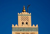 Detail of Moroccan Architecture - Low Angle View  Marrakech, Morocco, North Africa