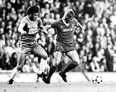 Liverpool v Middlesbrough, 17 September 1981 Liverpool's Kenny Dalglish in possession
