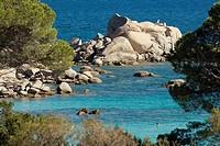 Beach of Palombaggia. Porto Vecchio. South Corsica. Corsica Island. France