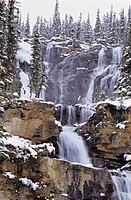 Tangle Falls, Jasper National Park, Alberta, Canada