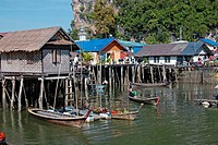 Ko Panyi, Muslim fishing village, Phang Nga, Thailand