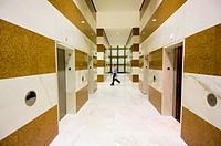 Office building hallway, Toronto, Ontario, Canada