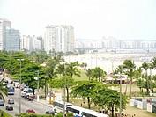Itarare beach, São Vicente, São Paulo, Brazil
