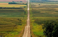 Highway, Coronach, Saskatchewan, Canada