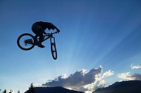 mountain biking in whistler, british columbia, Canada