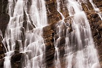 waterfalls, Waterton National Park, Alberta, Canada