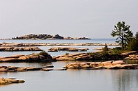 Fox Islands in Desjardins Bay, Ontario, Canada