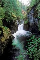 Waterfall, Englishman River Falls Provincial Park, British Columbia, Canada