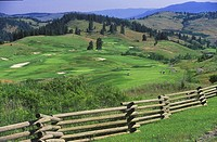 Predator Golf Course, Vernon, British Columbia, Canada