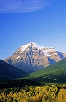 Mount Robson, Mt Robson Provincial Park, British Columbia, Canada