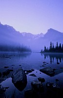 Lake O´Hara at dawn, Yoho National Park, British Columbia, Canada