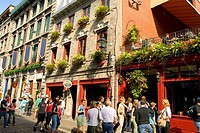Le Pierrot Restaurant, Rue Saint Paul, Old Montreal, Quebec