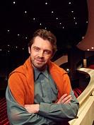 Winnipeg Symphony Orchestra Musical Director, Maestro Andrey Boreyko, Centennial Concert Hall, Winnipeg, Manitoba