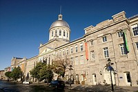 Bonsecours Market, Montreal, Quebec