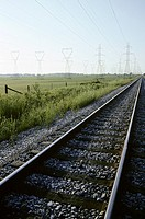 Railway Tracks and Power Lines, Nanticoke, Ontario
