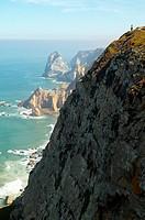 Atlantic Ocean Coastline, Cabo Da Roca, Portugal