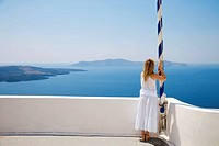 Greece. Cyclades Islands. Santorini. Oia