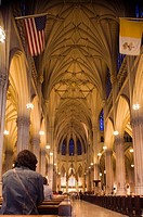 St. Patrick´s cathedral, midtown Manhattan, NYC, USA